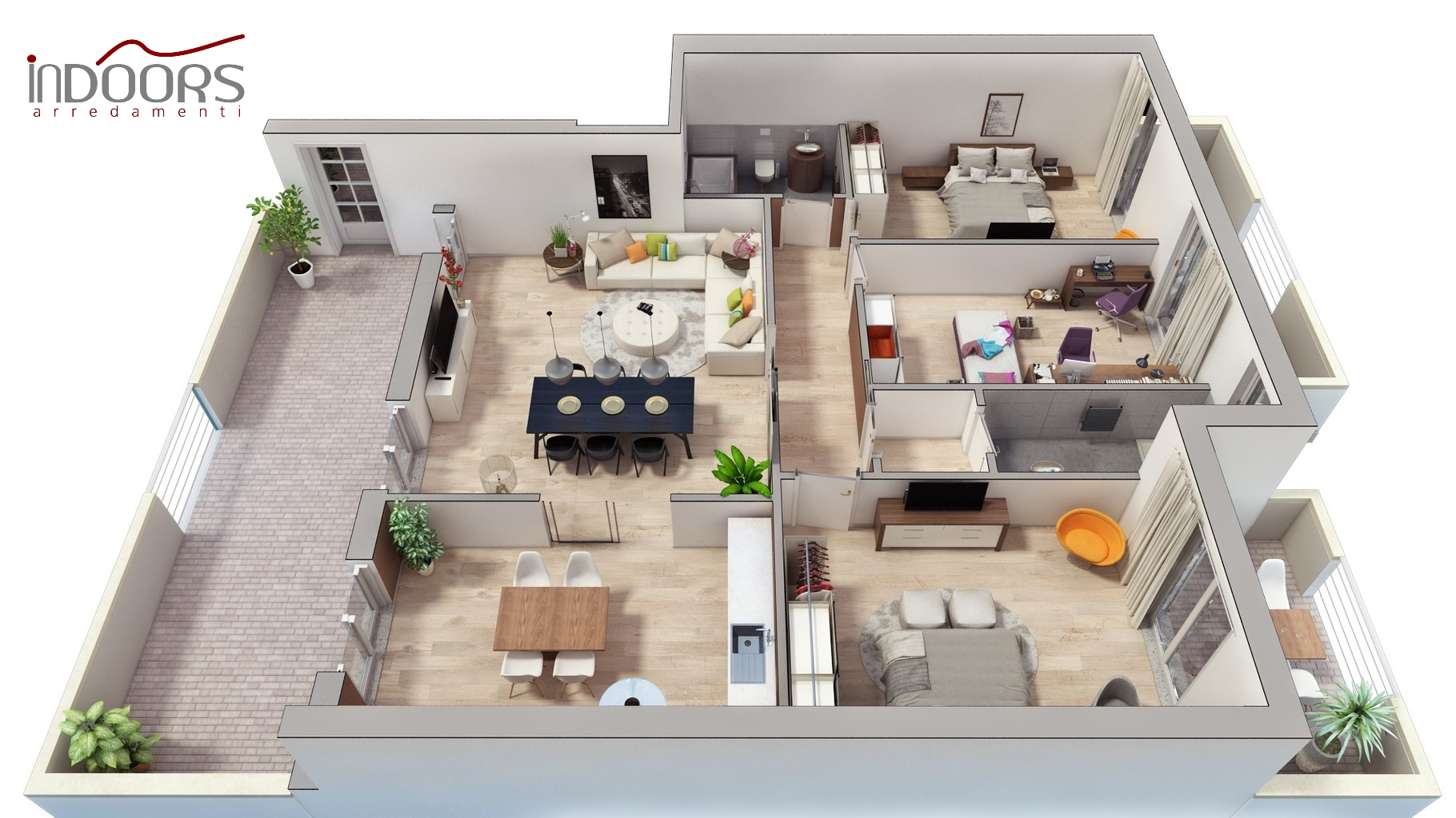Personal space for Planimetria 3d